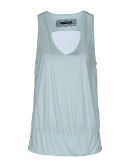 PATRIZIA PEPE SERA Sleeveless t-shirts $ 108.00