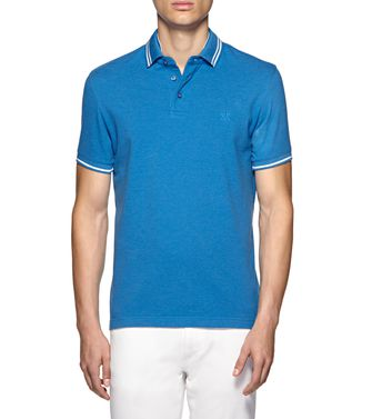 ZEGNA SPORT: Short-sleeved Polo  - 37524010SV