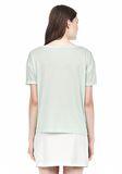 T by ALEXANDER WANG SINGLE JERSEY SHORT SLEEVE TEE Short sleeve t-shirt Adult 8_n_d