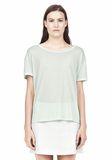 T by ALEXANDER WANG SINGLE JERSEY SHORT SLEEVE TEE Short sleeve t-shirt Adult 8_n_e