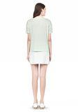 T by ALEXANDER WANG SINGLE JERSEY SHORT SLEEVE TEE Short sleeve t-shirt Adult 8_n_r