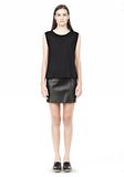 T by ALEXANDER WANG SINGLE JERSEY MUSCLE TEE TOP Adult 8_n_f