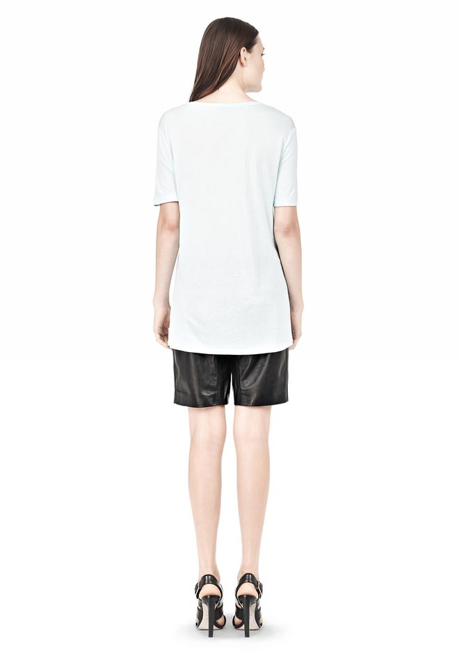 T by ALEXANDER WANG TEE WITH POCKET Short sleeve t-shirt Adult 12_n_r