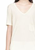 T by ALEXANDER WANG TEE WITH POCKET Short sleeve t-shirt Adult 8_n_a
