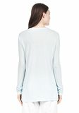 T by ALEXANDER WANG LONG SLEEVE TEE WITH POCKET LONG SLEEVE TEE Adult 8_n_d