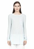 T by ALEXANDER WANG LONG SLEEVE TEE WITH POCKET LONG SLEEVE TEE Adult 8_n_e