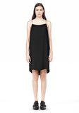 T by ALEXANDER WANG SILK SQUARE NECK SLIP DRESS Short Dress Adult 8_n_f