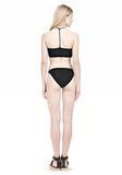 T by ALEXANDER WANG SWIM MATTE JERSEY BANDEAU WITH TRIANGLE T STRAPS Swimwear Adult 8_n_r