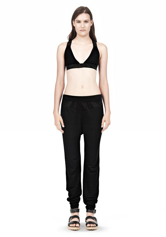 T by ALEXANDER WANG CRISS CROSS BRA TOP Adult 12_n_f