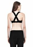 T by ALEXANDER WANG CRISS CROSS BRA TOP Adult 8_n_d