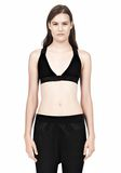 T by ALEXANDER WANG CRISS CROSS BRA TOP Adult 8_n_e