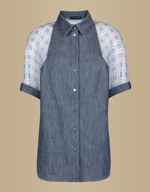 TRU TRUSSARDI - Denim shirt