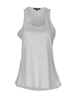 PATRIZIA PEPE Sleeveless t-shirts $ 46.00