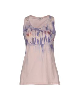 LOIZA BY PATRIZIA PEPE Sleeveless t-shirts $ 39.00