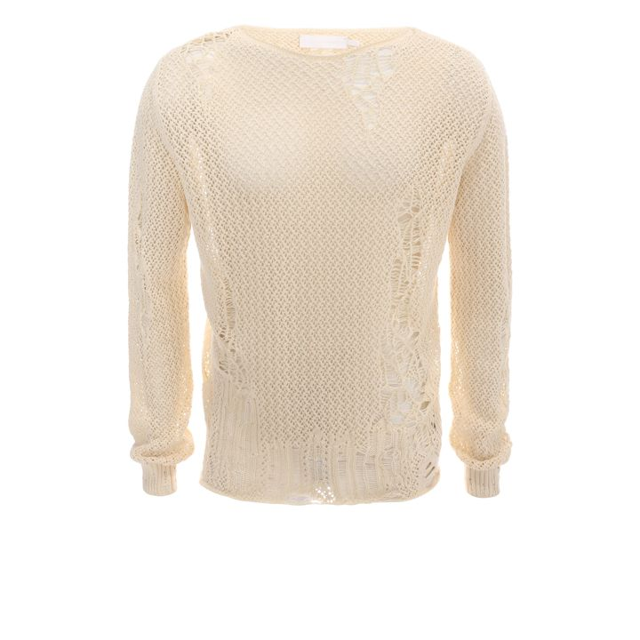 Alexander McQueen, Laddered Boat Neck Jumper