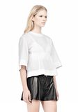 ALEXANDER WANG SUSPENDED T-SHIRT WITH BRA DETAIL Blouse Adult 8_n_a
