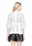ALEXANDER WANG SUSPENDED T-SHIRT WITH BRA DETAIL Blouse Adult 8_n_d