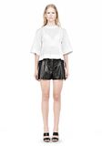 ALEXANDER WANG SUSPENDED T-SHIRT WITH BRA DETAIL Blouse Adult 8_n_f