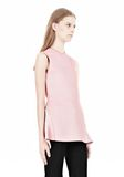 ALEXANDER WANG OPTICAL STRIPE PEPLUM TANK Sleeveless jumper Adult 8_n_a