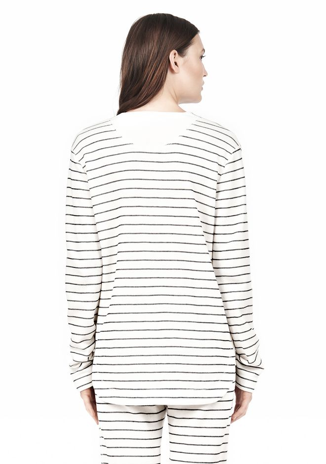 FRENCH RIB BASEBALL LONGSLEEVE TEE