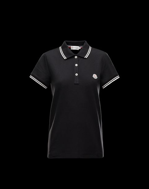 MONCLER Women - Spring-Summer 14 - TOPS & TEES - Polo shirt -