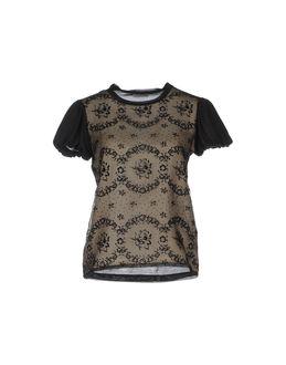 REDVALENTINO Short sleeve t-shirts $ 190.00