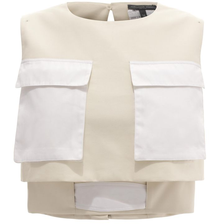 Alexander McQueen, Utility Pocket Cropped Top