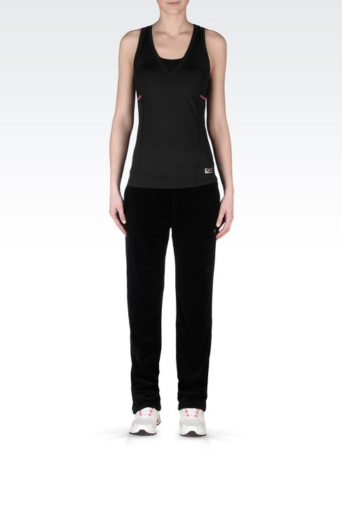 VEST IN TECHNICAL FABRIC: Tops Women by Armani - 1