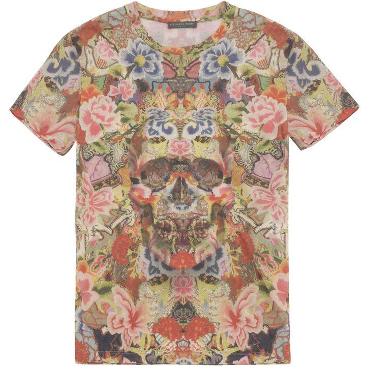 Alexander McQueen, Patchwork Floral T-shirt