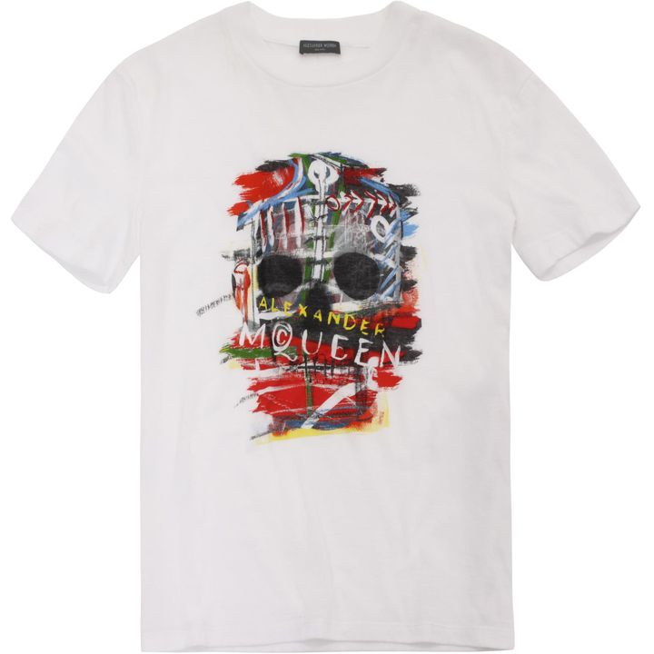 Alexander McQueen, Graphic Skull Boxy T-Shirt