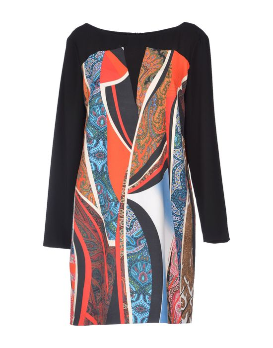 Фото BIANCOGHIACCIO Короткое платье. Купить с доставкой