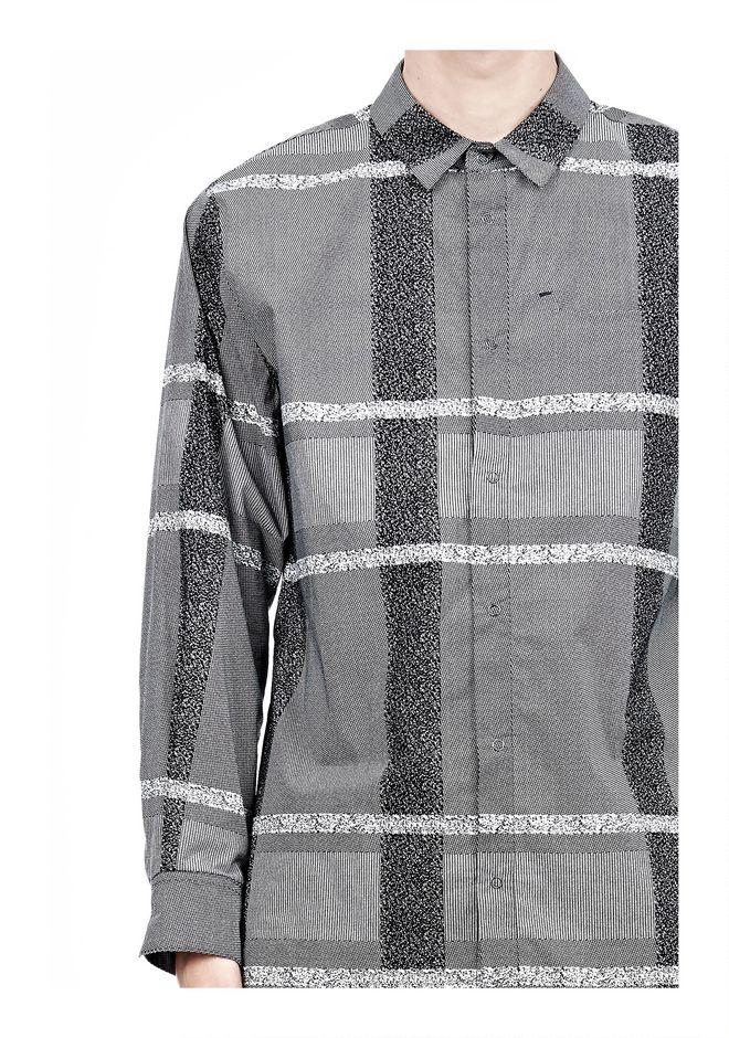 ALEXANDER WANG LONG SLEEVE SHIRT WITH INSET POCKET & SNAP CLOSURE Shirt Adult 12_n_a