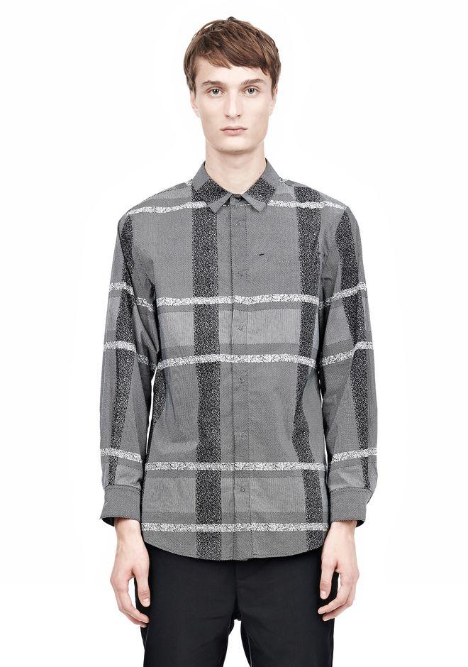 ALEXANDER WANG LONG SLEEVE SHIRT WITH INSET POCKET & SNAP CLOSURE Shirt Adult 12_n_e