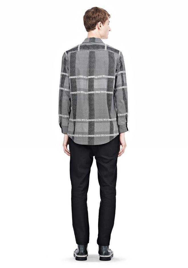 ALEXANDER WANG LONG SLEEVE SHIRT WITH INSET POCKET & SNAP CLOSURE Shirt Adult 12_n_r