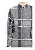 ALEXANDER WANG LONG SLEEVE SHIRT WITH INSET POCKET & SNAP CLOSURE Shirt Adult 8_n_a