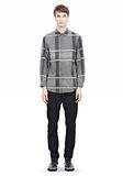 ALEXANDER WANG LONG SLEEVE SHIRT WITH INSET POCKET & SNAP CLOSURE Shirt Adult 8_n_f