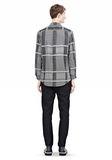 ALEXANDER WANG LONG SLEEVE SHIRT WITH INSET POCKET & SNAP CLOSURE Shirt Adult 8_n_r