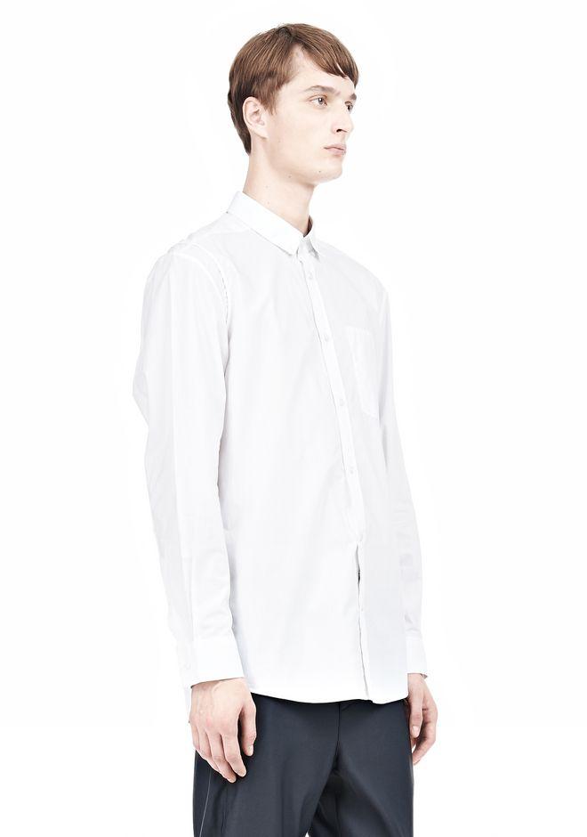 ALEXANDER WANG MULTI SEAM LONG SLEEVE BUTTON DOWN SHIRT Shirt Adult 12_n_a