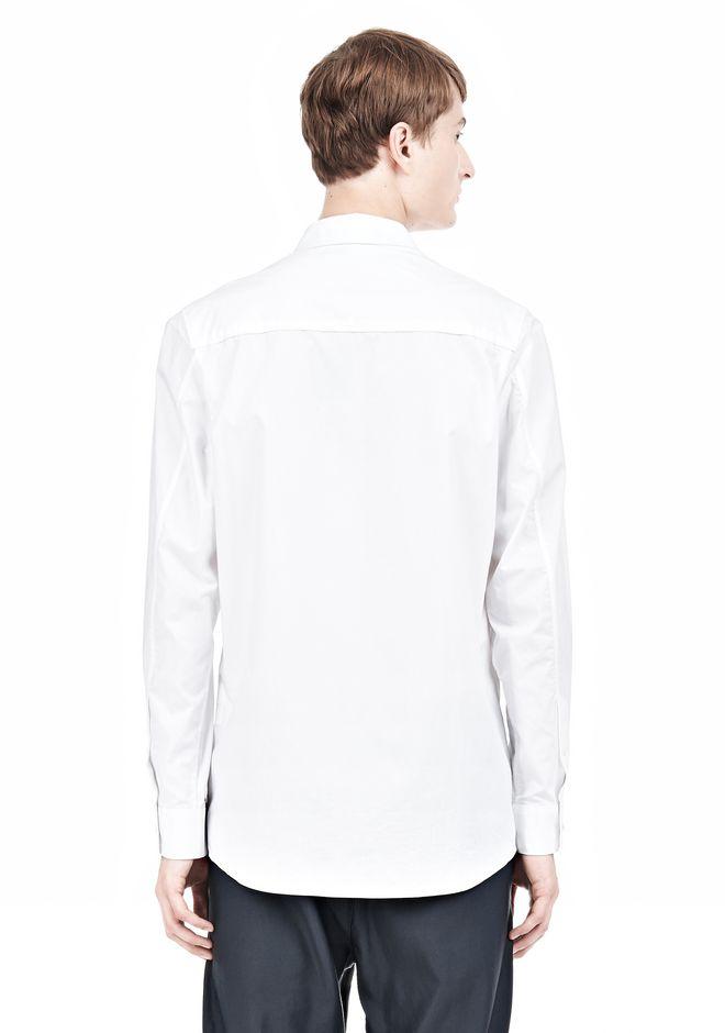 ALEXANDER WANG MULTI SEAM LONG SLEEVE BUTTON DOWN SHIRT Shirt Adult 12_n_d