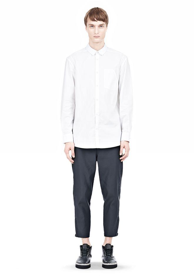 ALEXANDER WANG MULTI SEAM LONG SLEEVE BUTTON DOWN SHIRT Shirt Adult 12_n_f
