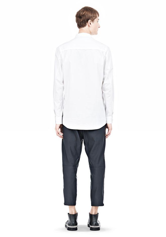 ALEXANDER WANG MULTI SEAM LONG SLEEVE BUTTON DOWN SHIRT Shirt Adult 12_n_r
