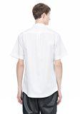 ALEXANDER WANG SHORT SLEEVE BUTTON DOWNSHIRT WITH INSET POCKET Short sleeve shirt Adult 8_n_d