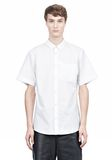 SHORT SLEEVE BUTTON DOWNSHIRT WITH INSET POCKET