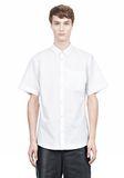 ALEXANDER WANG SHORT SLEEVE BUTTON DOWNSHIRT WITH INSET POCKET Short sleeve shirt Adult 8_n_e