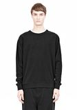 T by ALEXANDER WANG VINTAGE FLEECE SWEATSHIRT SWEATER Adult 8_n_e