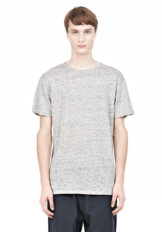 T by ALEXANDER WANG t-by-alexander-wang-sale HEATHER LINEN SHORT SLEEVE TEE
