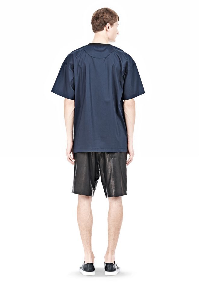 T by ALEXANDER WANG COTTON POPLIN SHORT SLEEVE TEE Short sleeve t-shirt Adult 12_n_r