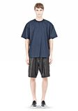 T by ALEXANDER WANG COTTON POPLIN SHORT SLEEVE TEE Short sleeve t-shirt Adult 8_n_f
