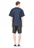 T by ALEXANDER WANG COTTON POPLIN SHORT SLEEVE TEE Short sleeve t-shirt Adult 8_n_r