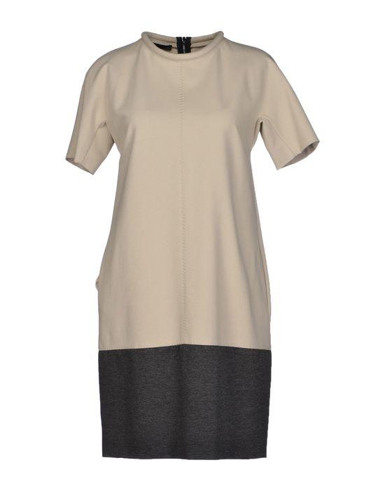 Фото LES COPAINS Короткое платье. Купить с доставкой